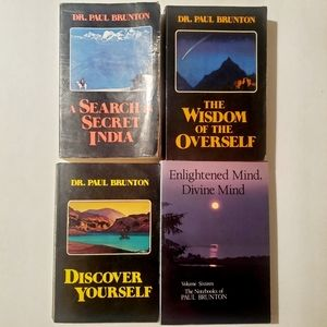 Lot 4 Paul Brunton Vintage Books